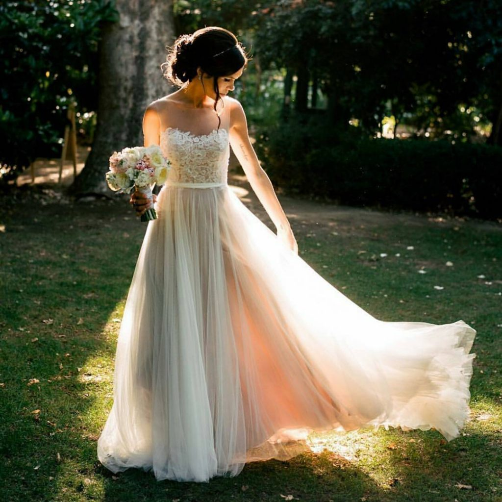 Best 21 Ivory Wedding Dresses In 2019