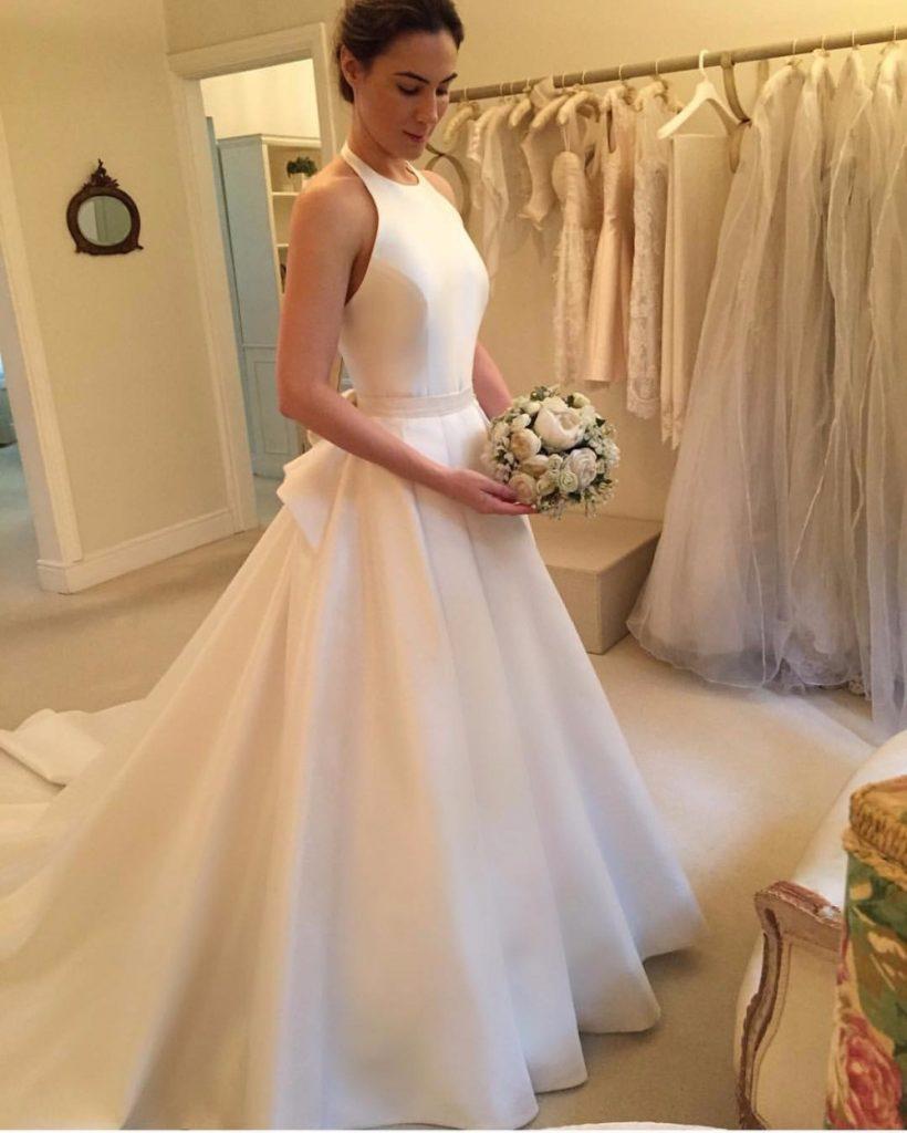 Best 21 Ivory Wedding Dresses In 2019