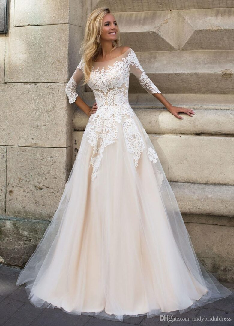 21 Best Wedding Dresses With Long Sleeves In 2020 Royal Wedding