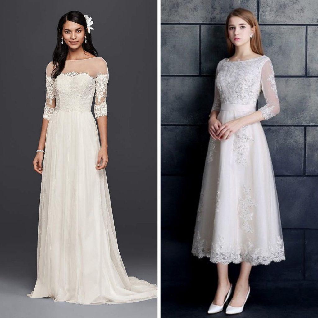 41 Best Wedding Dresses For Older Brides In 2020