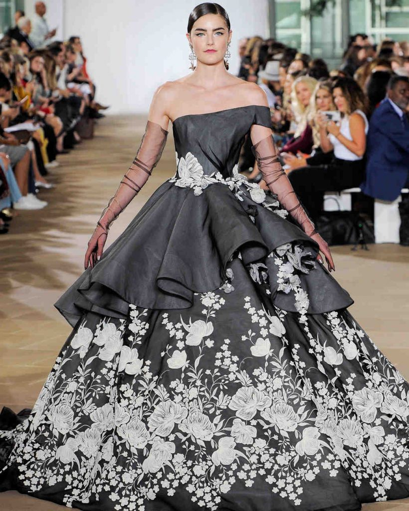 15 Best Black And White Wedding Dresses In 2019