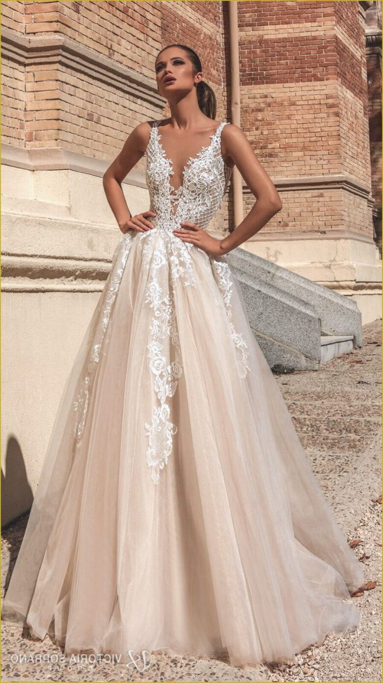 Champagne Wedding Dresses In 2020